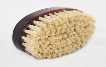 Dry skin body brushing